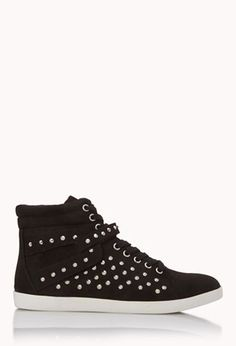 Trendy Women's Sneakers :   Rock'n'Roll High-Tops | FOREVER21    - #Women'sshoes