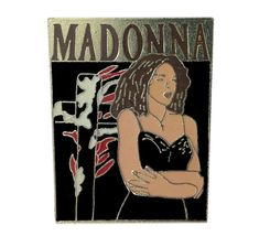 MADONNA Like A Prayer Tour 1989 vintage pin badge band rock concert BANNED Burning Cross by VintageTrafficUSA  19.00 USD  Add inspiration to your handbag tie jacket backpack hat or wall. Have some individuality = some flair! 20 years old hard to find vintage high-quality pin. You are looking at a a very rare WITHDRAWN Madonna Like A Prayer Metal Pin Badge. But due the controversial video and Pepsi campaign these disappeared. The image is the classic shot of Madonna from the Like A Prayer…