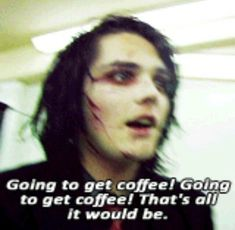 Day in the life of Gerard Way