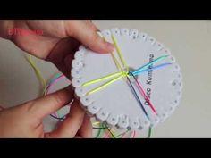 DIY pulsera fluor kumihimo