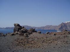 Climb an active volcano in Santorini?Sure.