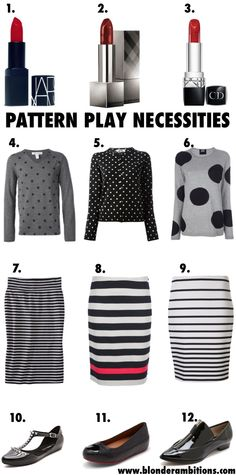 BLONDER AMBITIONS | PATTERN PLAY. fashion. lifestyle. fashion blog. blogger. polka dots. stripes. layering. fall fashion.