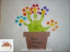 Olha que idéia genial de cartão para o  dia das Mães!