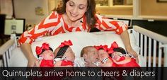 Breaking News: Texas quintuplets arrive home to cheers, stacks of diapers | Current News | Bangla Newspaper | English Newspaper | Hot News