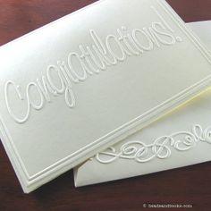 Congratulations Card Set (Congrats - Graduation, Job, Engagement, Wedding, Home, Baby)