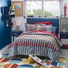 Ryan Stripe Comforter Cover | Company Kids