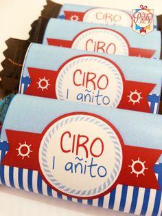 Chocolatines náuticos para Ciro