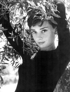 Audrey Hepburn by Phillip Halsman, 1954.
