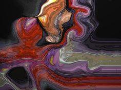 "Digital Art. ""Flux"". 1000mm x 810mm. $695 (695 euros)"