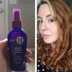 It's a 10 Miracle Leave-In Product = softens and tames
