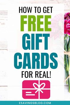 Get Gift Cards, Money Cards, Diy Cards, Thank You Cards, Free Gifts, Diy Gifts, Credit Card Statement, Everything Free, Get Free Stuff