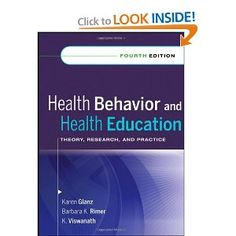 Health Behavior and Health Education: Theory, Research, and Practice [Hardcover] Traditional Books, Philosophy Books, Medicine Book, Human Development, Science Books, Classic Books, Health Education, Research, Theory