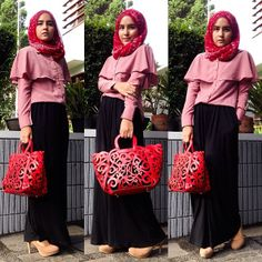 zahratul jannah # Muslimah fashion inspiration