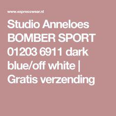 Studio Anneloes BOMBER SPORT 01203 6911 dark blue/off white | Gratis verzending