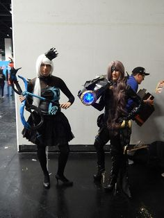 #AION #games #gamescom Celebrate the Games 2015...here a pic from last year. Gunner and Bard