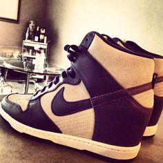 Nike Dunks cute wedges