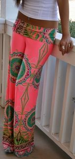 St. Tropez Palazzo Pants  Could I pull these off???