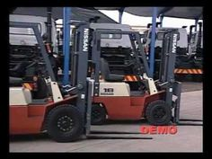 Forklift Operator Training DVD (FLT)  DEMO Golf Carts, Lawn Mower, Outdoor Power Equipment, Tech, Training, Lawn Edger, Fitness Workouts, Gym, Education