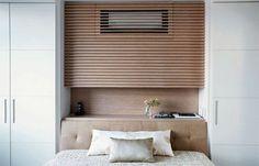 Hide the mini-split. Bedroom Wardrobe, Home Bedroom, Bedroom Wall, Bedroom Decor, Air Conditioner Cover Indoor, Hide Ac Units, Ac Cover, Hidden Cabinet, Apartment Interior