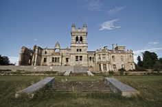 abandoned Lord Overstone Manor