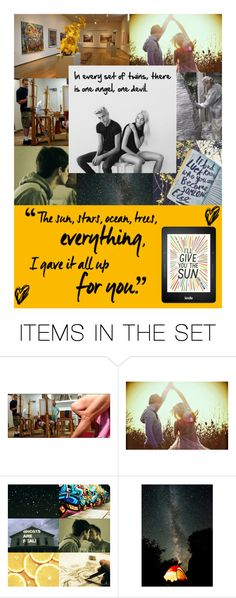 """""""I'll Give You the Sun (book)"""" by hangar-knjiga ❤ liked on Polyvore featuring art, book, books and JandyNelson"""