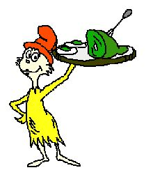 Dr. Seuss   Green Eggs and Ham Tic-Tac-Toe  Cat in the Hat _at Words on Hat