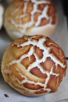 Dutch Crunch Bread, aka Tiger or Giraffe Bread. I love this stuff!