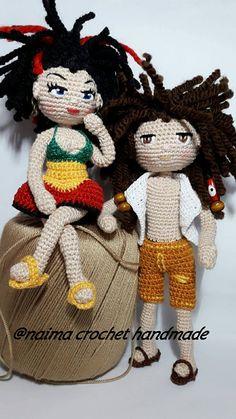 amigurumi hecho a mano muñeca muñeca del ganchillo muñeca