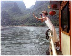 "xwg: "" Linda Evangelista photographed by Arthur Elgort, China, 1993 """