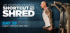 Bodybuilding.com - Jim Stoppani's Shortcut To Shred: Day 39 - Chest, Triceps, Abs