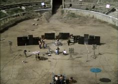 Pink Floyd - Still from Live at Pompeii