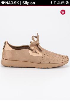 Semišové béžové slip ony Kylie Kylie, Slip On, Sneakers, Shoes, Fashion, Tennis, Moda, Slippers, Zapatos