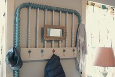 from Crib to Coat Rack