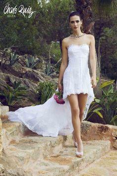 Vestido Charisse : CHARO RUIZ IBIZA Textiles Y Moda, Charo Ruiz, Look Boho, Glamour, Bridal Collection, Formal Dresses, Wedding Dresses, Bridal Gowns, Marie