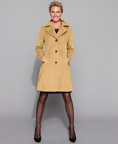 Anne Klein Coat - Macy's $170 | SACOS Y ABRIGOS | Pinterest | Anne ...