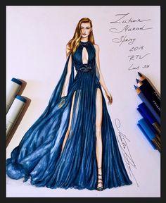 474 個讚,7 則留言 - Instagram 上的 NataliaZ.Liu(@nataliazorinliu):「 The Stunning Zuhair Murad Spring 2018 RTW gown @zuhairmuradofficial @zuhairmuradprivate… 」