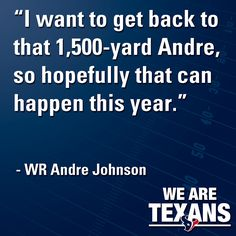 Great quote from after the first day of OTAs on May 21, 2012