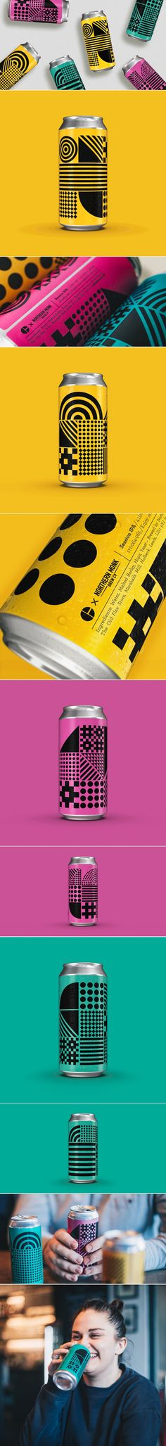 """Toast The Good Times With this Colorful """"Craft"""" Beer — The Dieline 