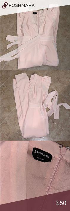 0c7277ea99 Bebe Pant Suit Gorgeous Bebe one Piece Size 6 Iguc bebe Pants Jumpsuits    Rompers