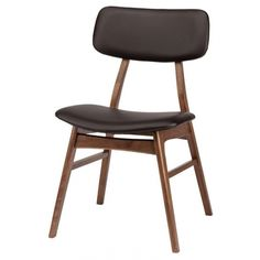 Dmitry Dining Chair In Walnut|black | Memoky.com
