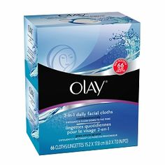 Free Sample Olay 2 in 1 Daily Facial Cloths