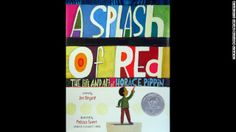 """""""A Splash of Red: The Life and Art of Horace Pippin,"""" written by Jen Bryant and illustrated by Melissa Sweet, is the winner of the Schneider..."""