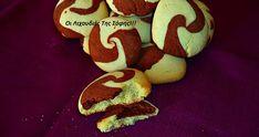 Δίχρωμα+νηστίσιμα+cookies+απο+τη+Σόφη+Τσιώπου