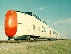 United Aircraft Corporation's TurboTrain, 1968