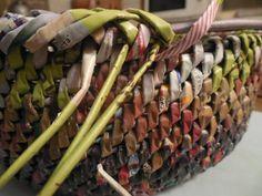 Тема: Заходите в гости (71/73) - Плетение из газет и другие рукоделия - Плетение из газет