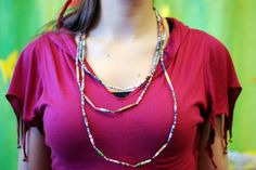 Paper necklace at IMWe 2014