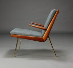 Peter Hvidt & Orla Mølgaard-Nielsen. Boomerang Chair. Lounge chair