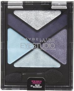 Maybelline New York Eye Studio Color Explosion Luminizing Eyeshadow, Blue Blowout 20, 0.09 Ounce