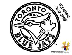 toronto blue jays logo coloring pages.html