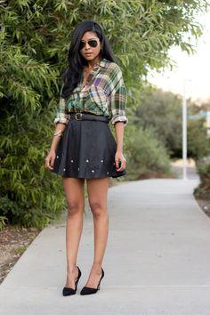 50 модни идеи с каре за есента - Страница 20 - Rozali.com